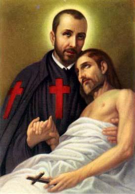 Július 14 - Lellisi Szent Kamill
