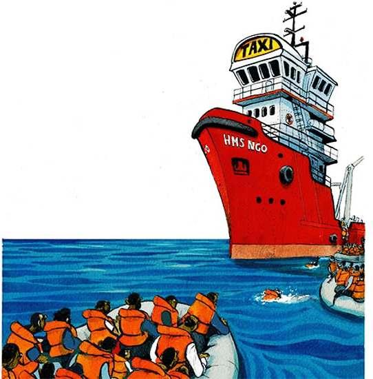 """Embercsempészek kezére játszanak az """"életmentő civilek"""""""