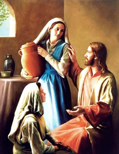 Július 29 - Szent Márta asszony, az Úr vendéglátója