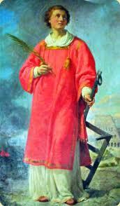 Péntek - Szent Lőrinc diakónus és vértanú