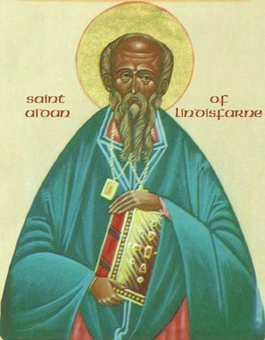 LINDISFARNEI SZENT AIDAN püspök