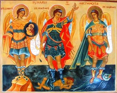 Szeptember 29 - Szent Mihály, Gábor és Rafael főangyalok