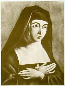 Október 16- Alacoque Szent Margit-Mária nővér, Jézus Szent szívének apostola