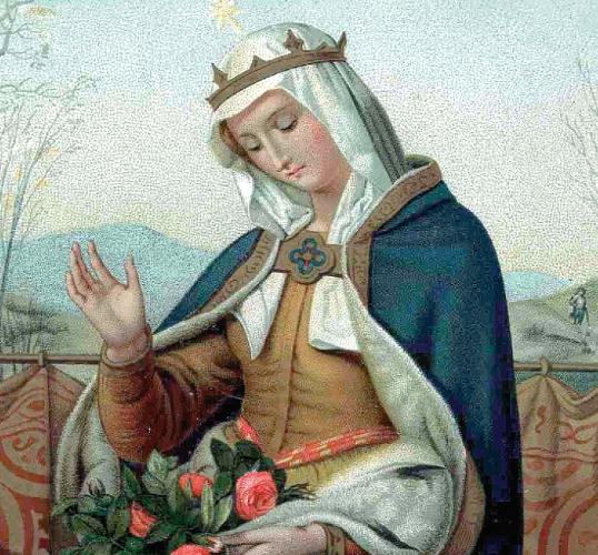 November 19 - Évközi 33. vasárnap, Árpád-házi Szent Erzsébet