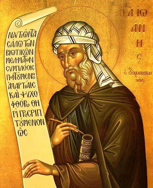 December 4 - Damaszkuszi Szent János és Szent Borbála