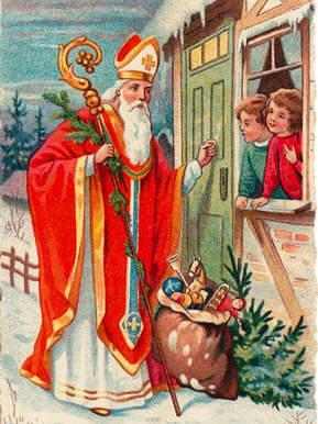 December 6 - Szent Mikós püspök (Mikulás)