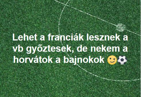 """Így """"ünnepelnek"""" a """"franciák"""" és így a horvátok"""