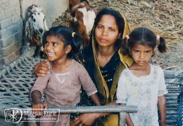 A halálbüntetés alól felmentett pakisztáni asszony férje nemzetközi segítséget kér