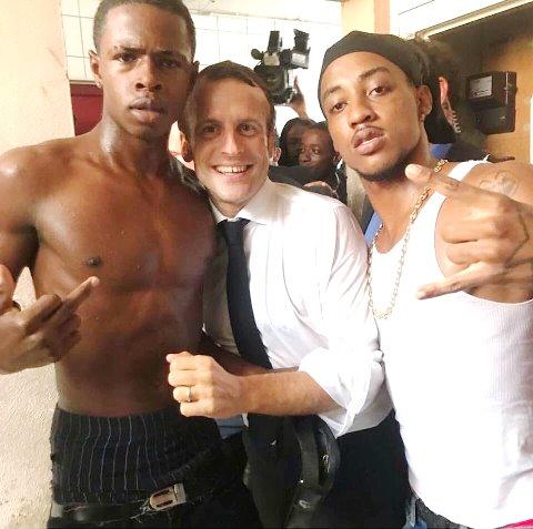 Macron-ellenes lázadás Párizsban