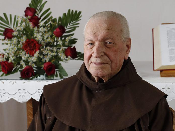 Ötven éve szolgál Csíksomlyón a 92 éves Márk József atya