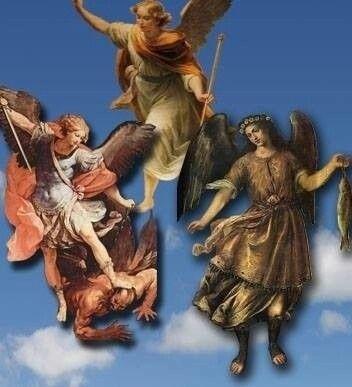 Szent Mihály, Szent Gábor és Szent Rafael főangyalok