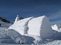 Jégtemplom a Fogarasi-havasokban