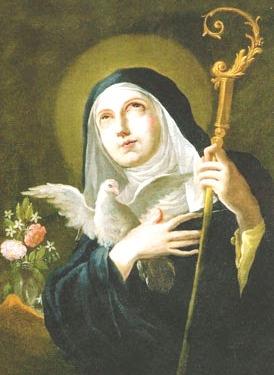Február 10. - Szent Skolasztika